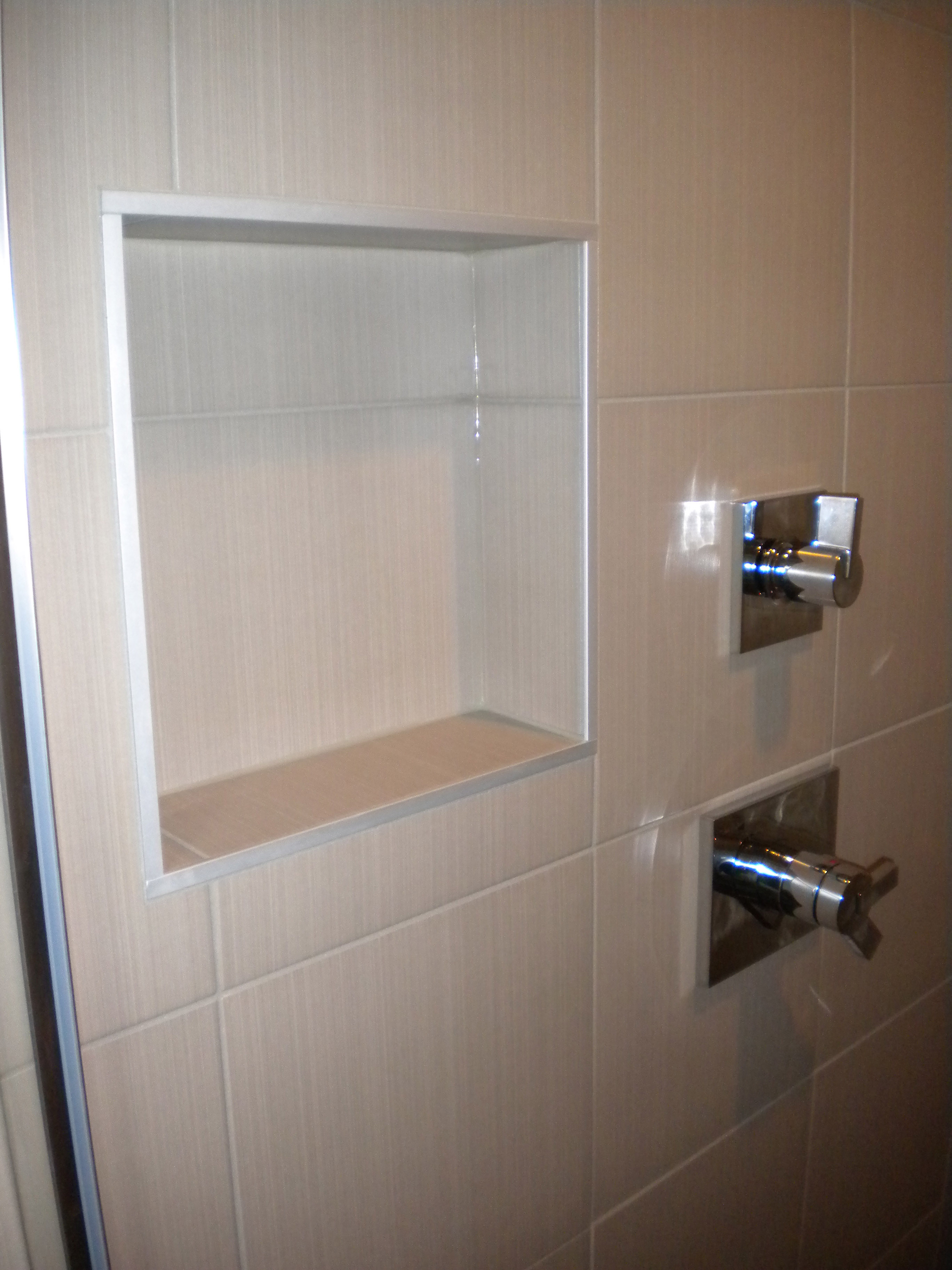 Shower Niche Jed Buxton Design Build
