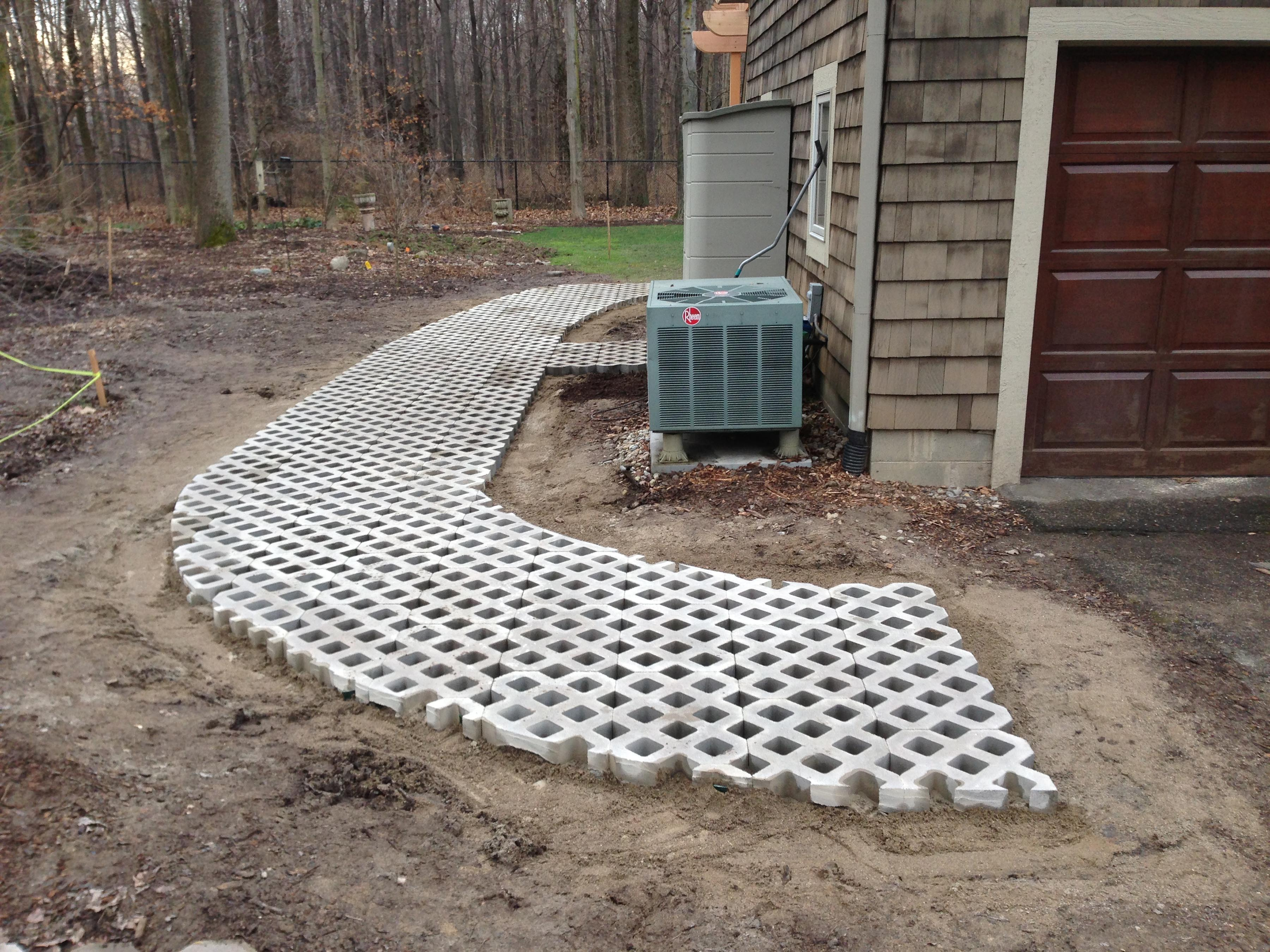how to make paving stones