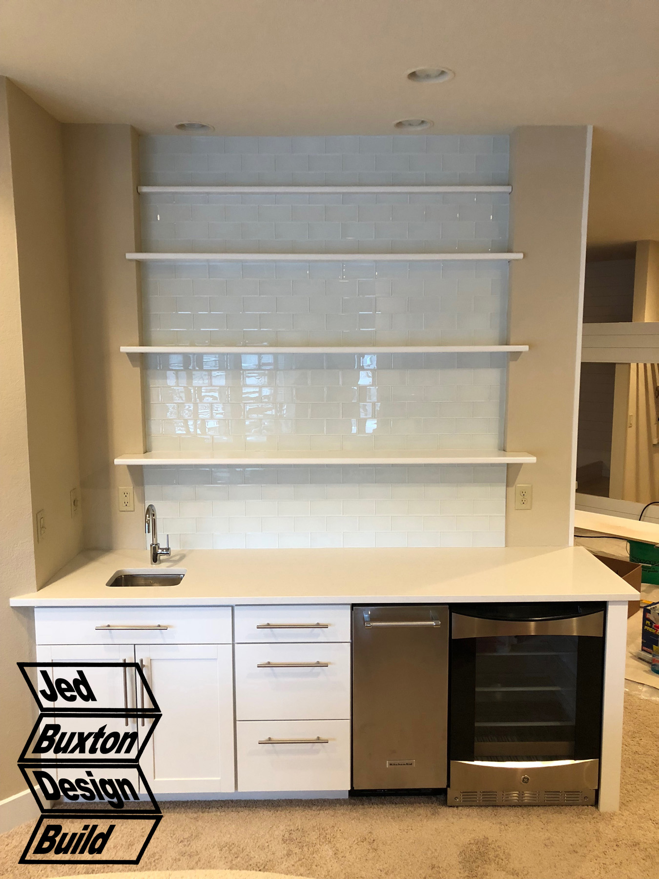 This Entry Was Posted In Carpentry, Design, Tile (Kitchen) By Jed Buxton.  Bookmark The Permalink.